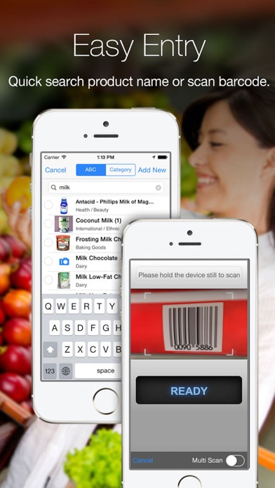 Grocery Gadget - Shopping List Screenshot 1