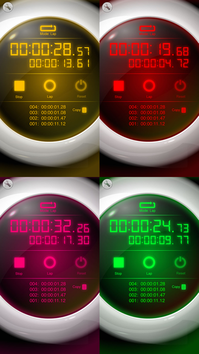 ストップウォッチ [Best Stopwatch] ScreenShot2