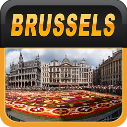Brussels Offline Map Travel Guide