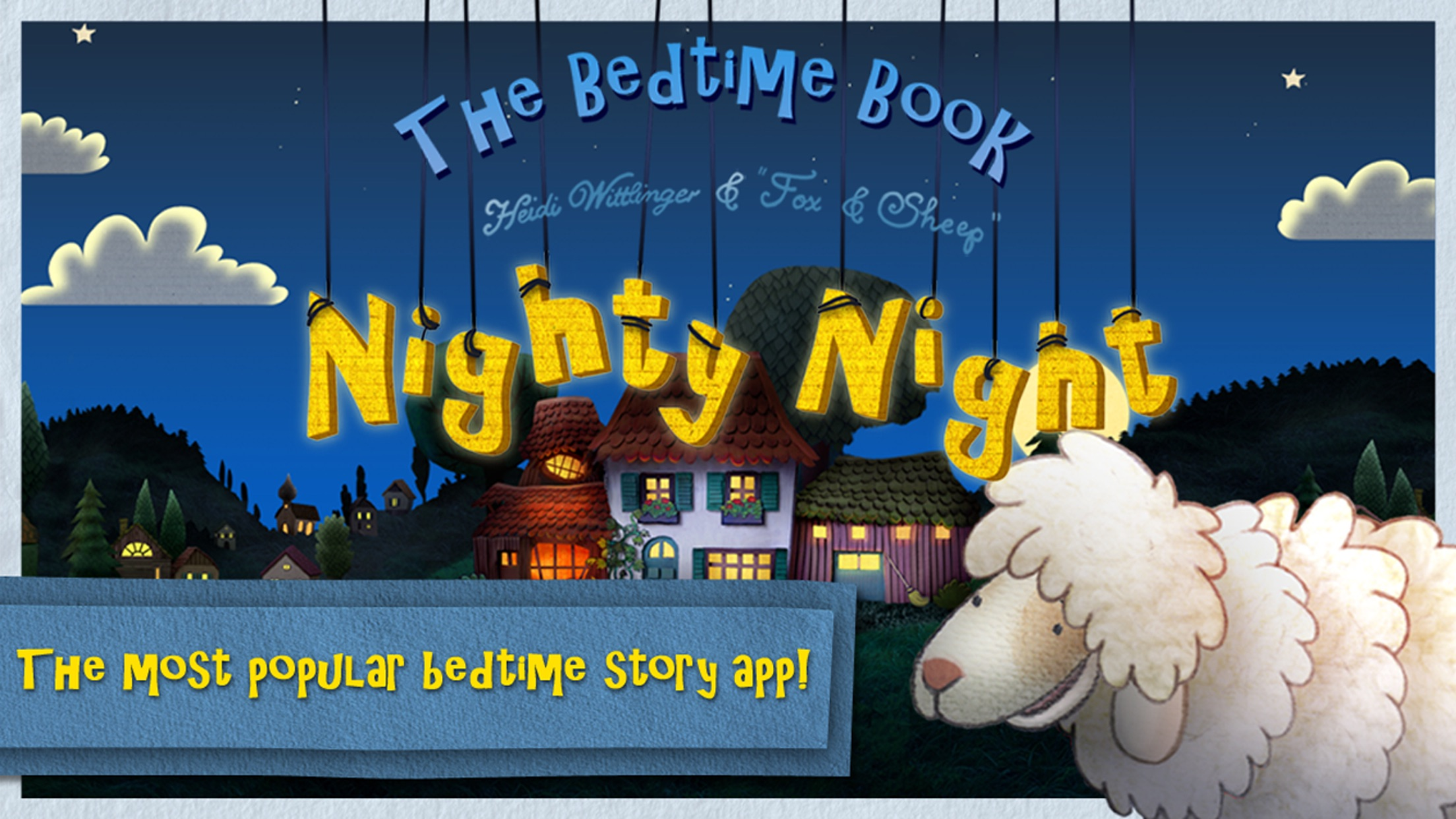 Nighty Night! - The bedtime story app for children Screenshot