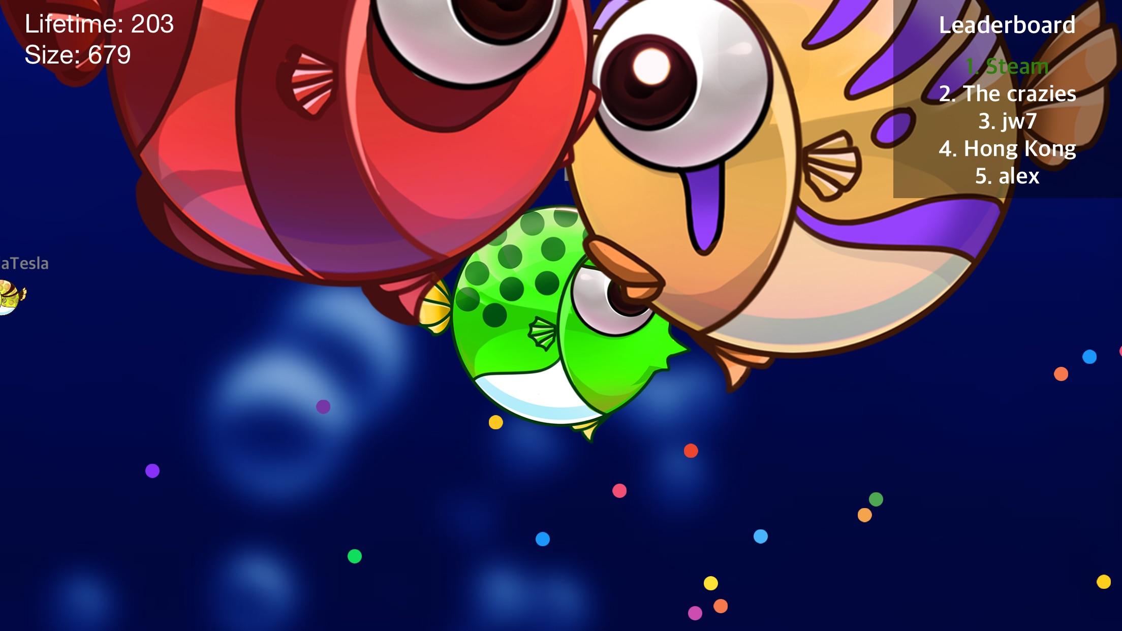 Fish War: World of Shark - Hungry Feeding Game Screenshot