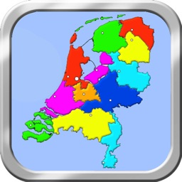 Netherlands Puzzle Map