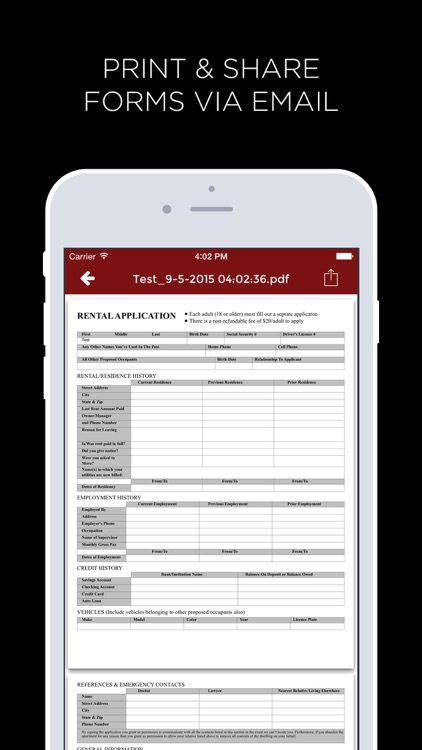 Lease App Pro - Create Digital Real Estate Forms