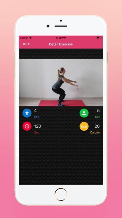 Daily Women Fitness Challenges screenshot-3