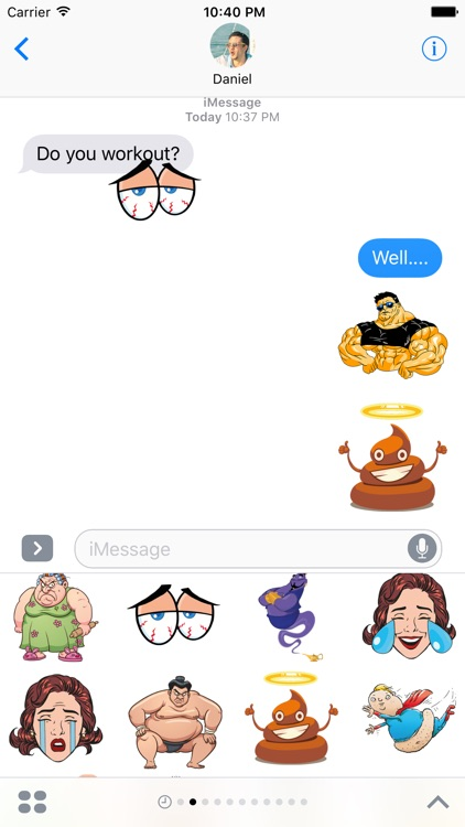 LOL – Hilarious Stickers for iMessage