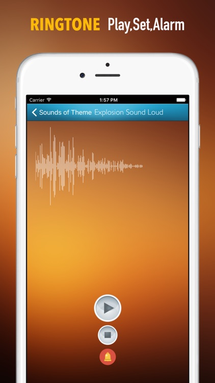 Explosion Sounds and Wallpapers: Theme Ringtones and Alarm screenshot-1