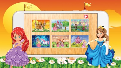Princess Pony Jigsaw Puzzle for Toddlers and Girl screenshot three