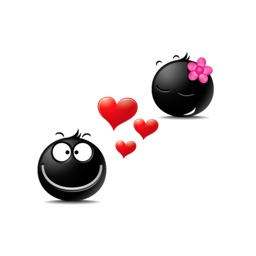Black Emoji Stickers