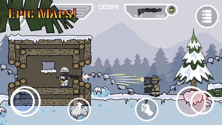 Doodle Army 2 : Mini Militia - Online Multiplayer screenshot-4