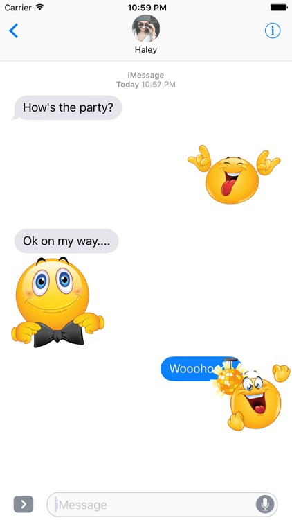 Party Emoji – Celebration Stickers for iMessage