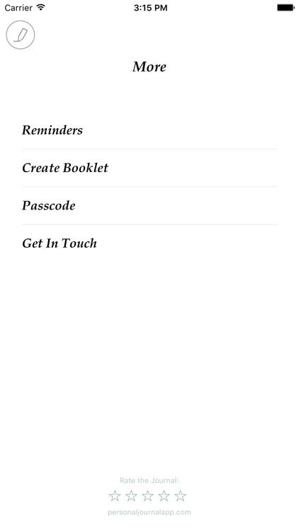 Personal Journal - Best diary & gratitude journal screenshot-3