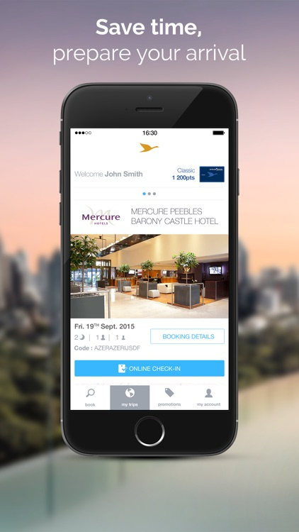 AccorHotels hotel booking