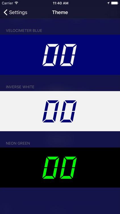 Velocimeter - Speedometer App screenshot-3