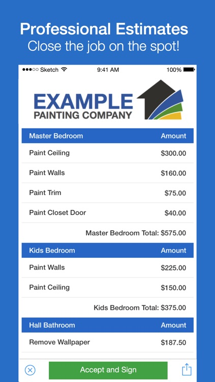 Estimating and Invoicing Software for Contractors - Leveler