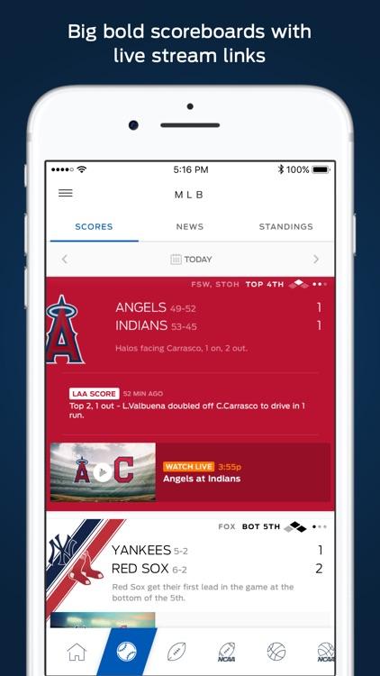 FOX Sports Mobile screenshot-3