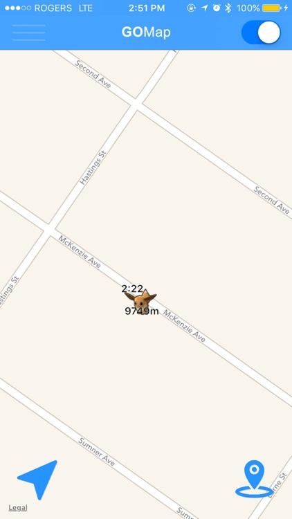 Live Radar - Maps and Notification for Pokémon GO