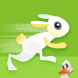 Crazy Rabbit Jump. The Hero Jumpy Bunny Super Running Adventure