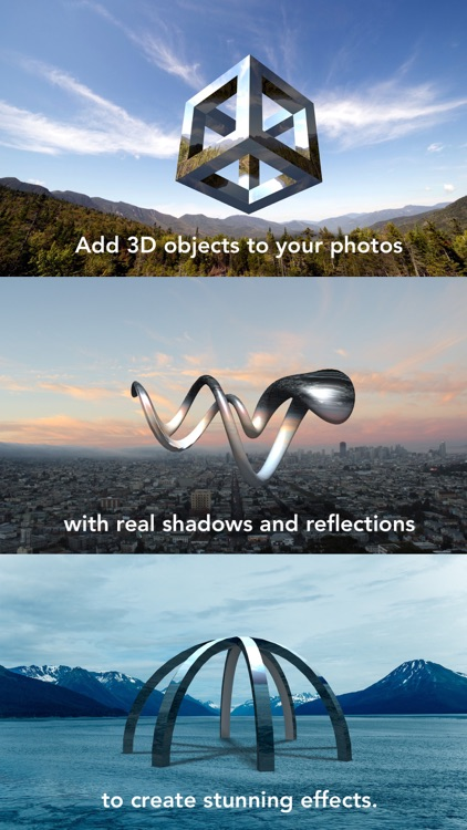 Matter - Create and design 3D effects with photos screenshot-0