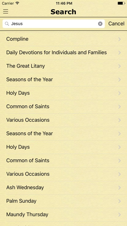 Book of Common Prayer. All Prayers for each Day screenshot-3