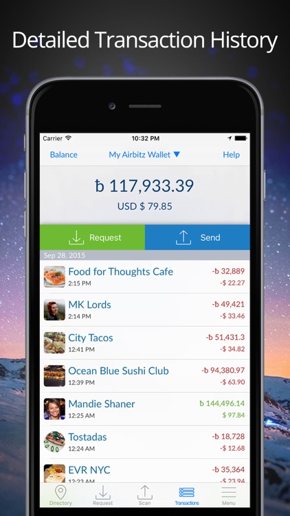 Airbitz - Bitcoin Wallet screenshot-0