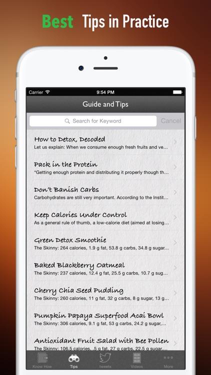 Detox Diet Cookbook: Healthy Weight Loss screenshot-3