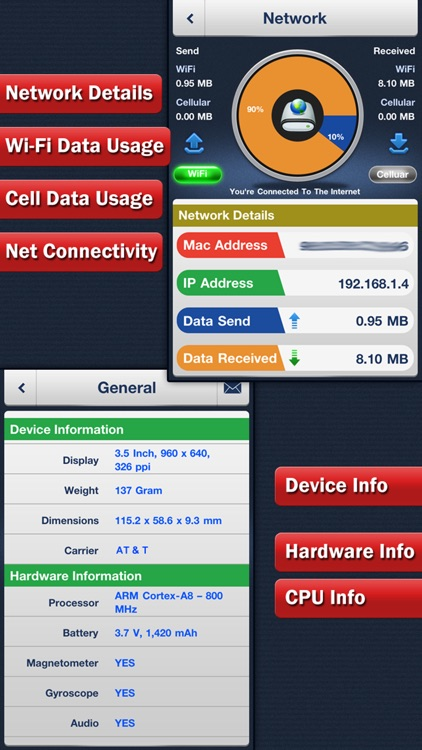 System Status Pro - Battery & Network Manager screenshot-4