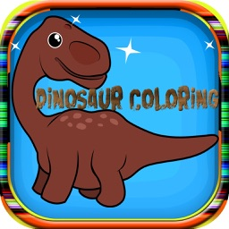 Dinosaur coloring Book for Kid Games and Toddlers
