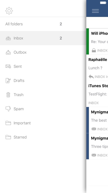 Mynigma - Safe email made simple screenshot-4