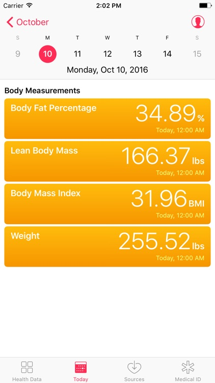 Body Sync for Fitbit to Health