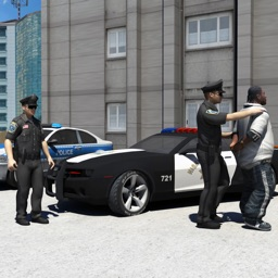 The Police Car Driver City parking 3d Simulator