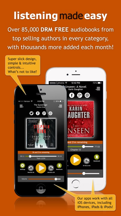 Audiobooks from AudiobookSTORE screenshot-0