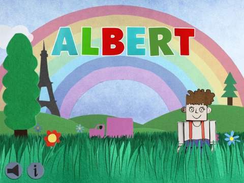 Albert на iPad