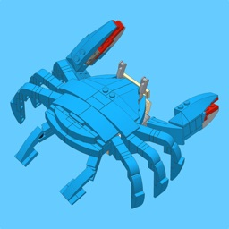 Blue Crab for LEGO 10252 Set
