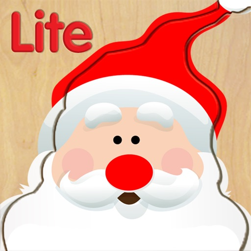 Wood Puzzle Christmas HD Lite icon