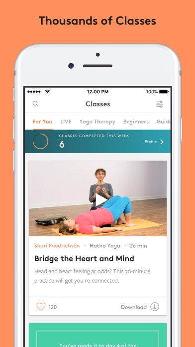 Screenshot for Yoga International in Peru App Store
