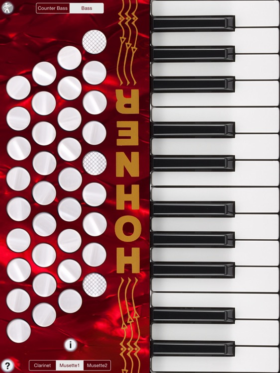 Hohner Piano Accordion screenshot-0