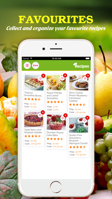 Yummy Fruit Recipes ~ Best of delicious fruit recipes screenshot four