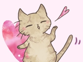 Make your conversations cuter with these Cute Cat Stickers