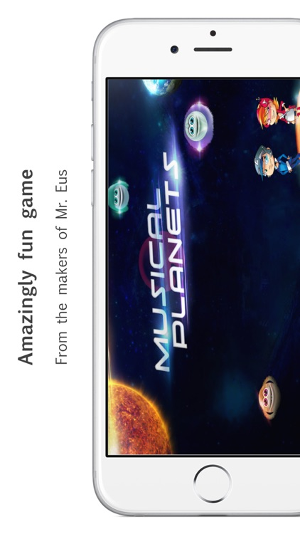 Musical Planets - A quiz game
