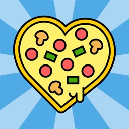 I Love Pizza Sticker Pack