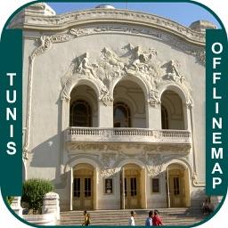 Tunis_Tunisia Offline maps & Navigation