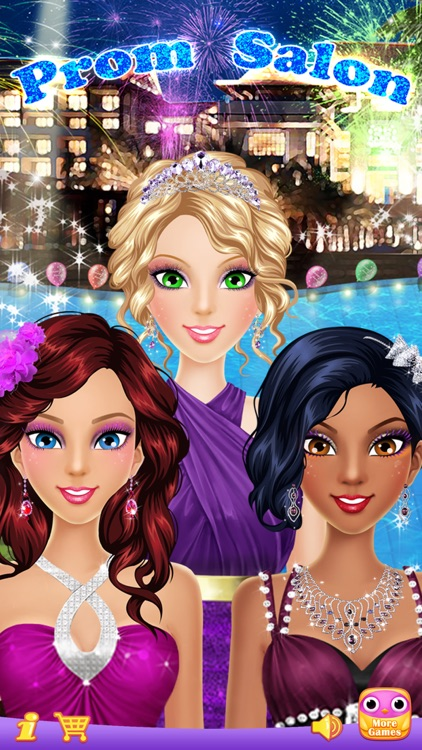 Prom Salon™ - Girls Makeup, Dressup and Makeover Games