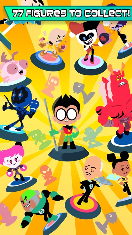 Teeny Titans - Teen Titans Go! Figure Battles screenshot-0