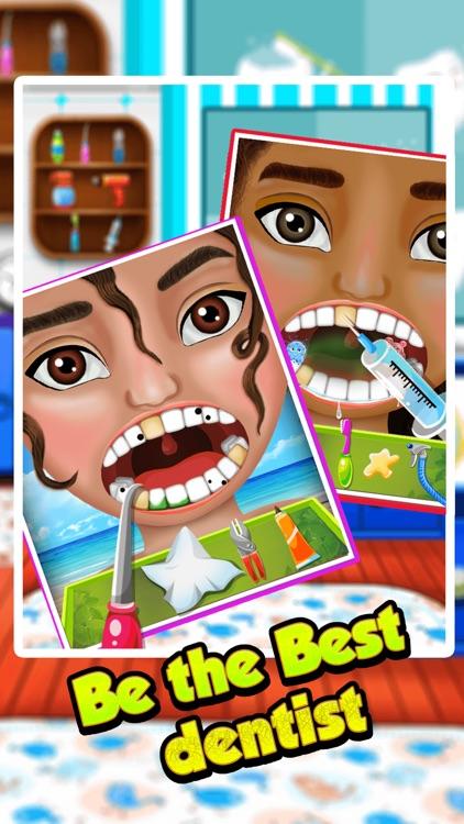 Baby Moana Lilo Dentist Games