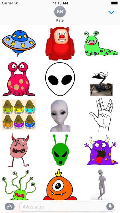 Aliens Sticker Pack