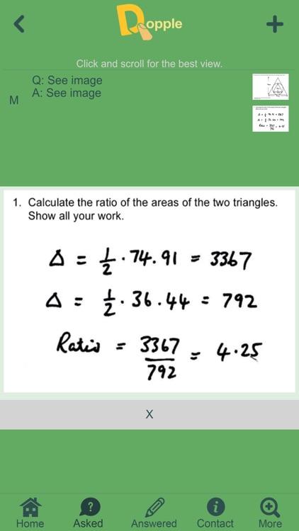 Dopple - Homework Solver