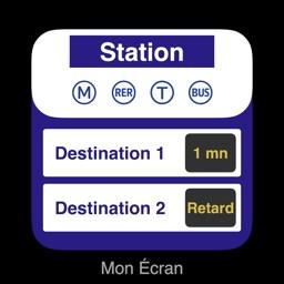 Mon Écran — Schedules of RATP