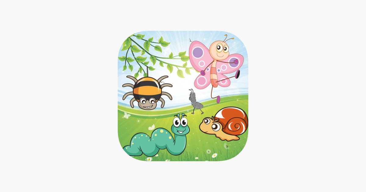 Rompecabezas de insectos niños en App Store