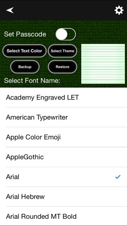 Personal Diary App screenshot-4