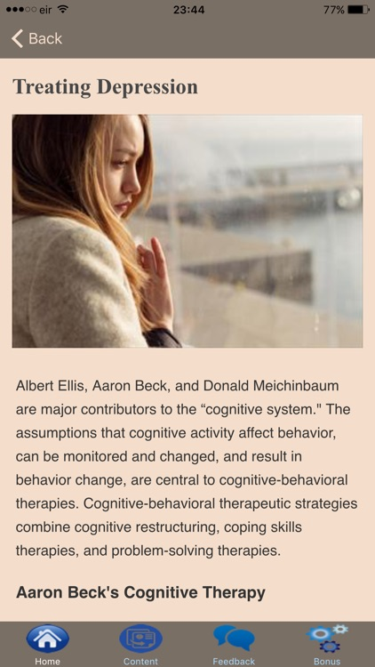 Cognitive Behavioral Therapy - Overcoming Stress screenshot-3